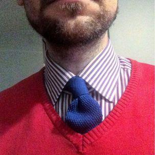#krakahaaste #knittedtie #necktie
